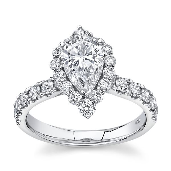 Eternalle Lab-Grown 14k White Gold Diamond Engagement Ring 2 ct. tw.