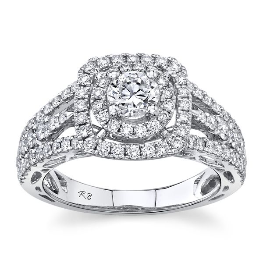 Utwo 14k White Gold Diamond Engagement Ring 1 1/3 ct. tw.