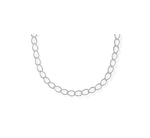 14k White Gold Necklace 2 1/2 ct. tw.