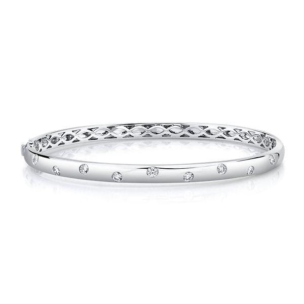 Memoire 18k White Gold Bracelet 1/2 ct. tw.