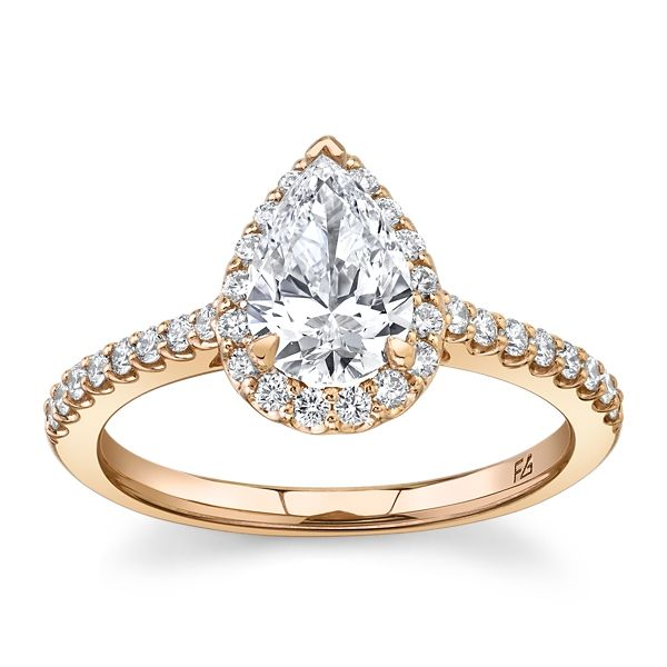 Eternalle Lab-Grown 14k Rose Gold Diamond Engagement Ring 1 1/4 ct. tw.