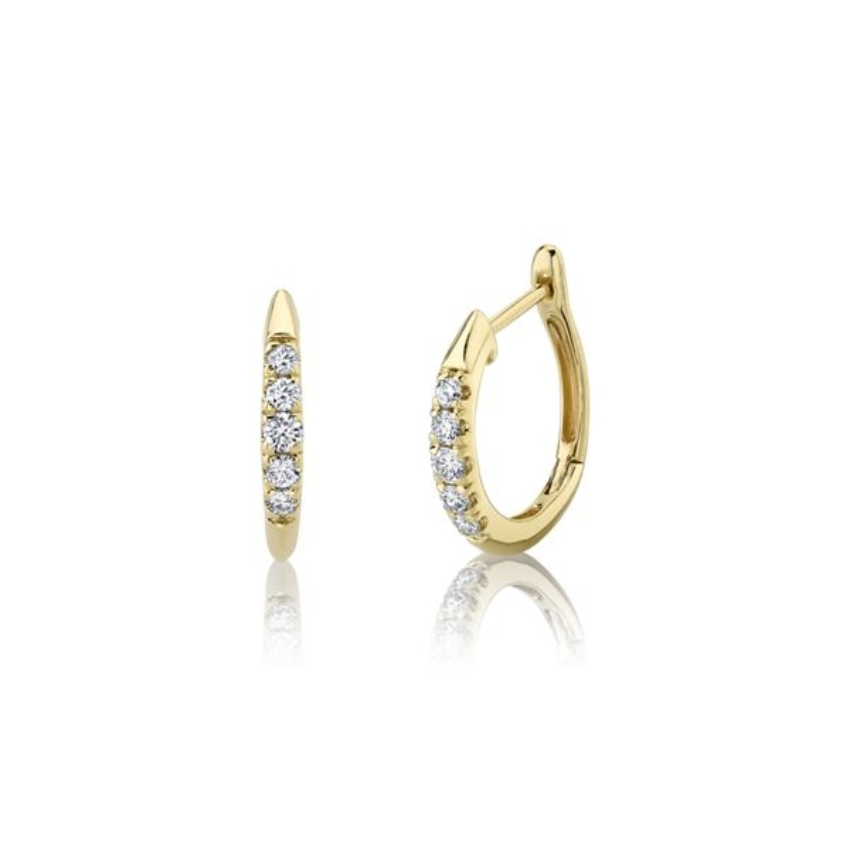 Gabriel & Co. 14k Yellow Gold Earrings 1/5 ct. tw.
