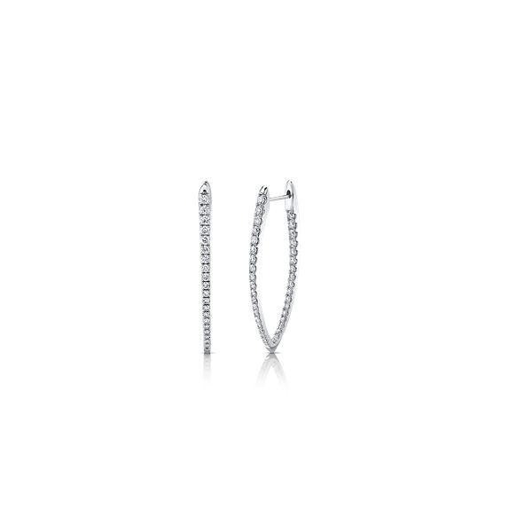 Memoire 18k White Gold Earrings 1 1/2 ct. tw.