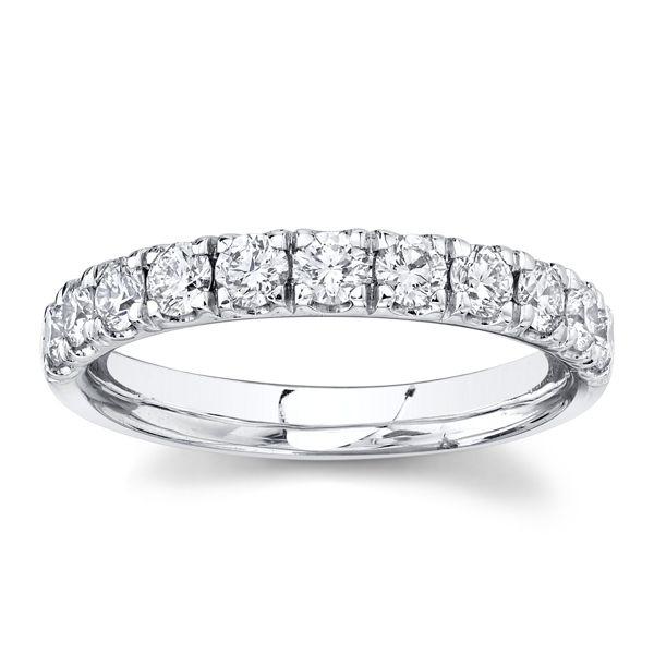 Gabriel & Co. 14k White Gold Diamond Wedding Band 3/4 ct. tw.