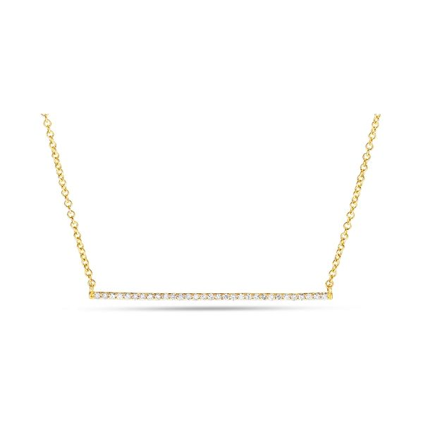 14k Yellow Gold Necklace 1/3 ct. tw.