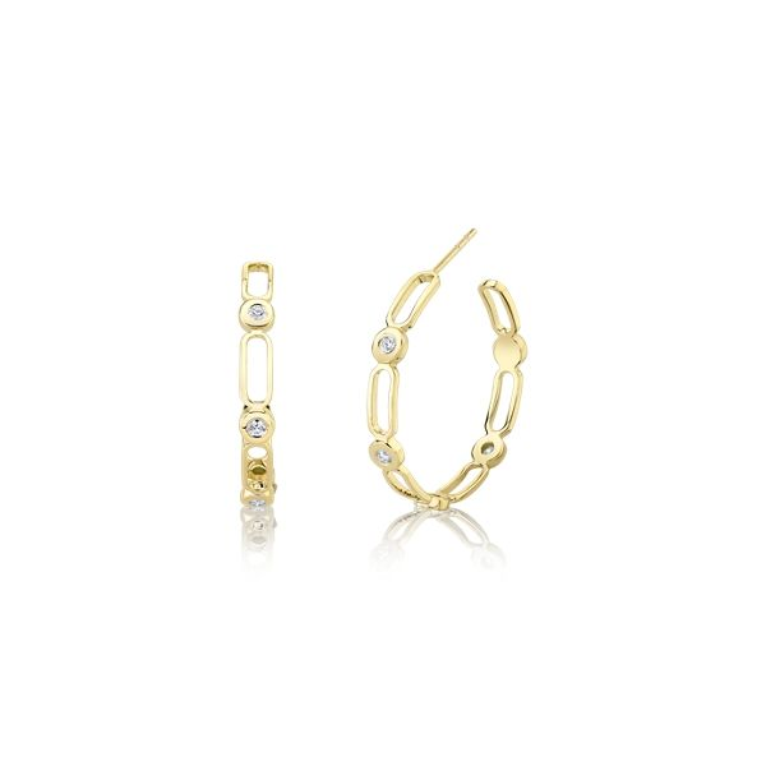 Michael M. 14k Yellow Gold Earrings 1/4 ct. tw.
