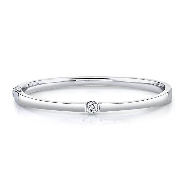 Memoire 18k White Gold Bracelet 3/8 ct. tw.