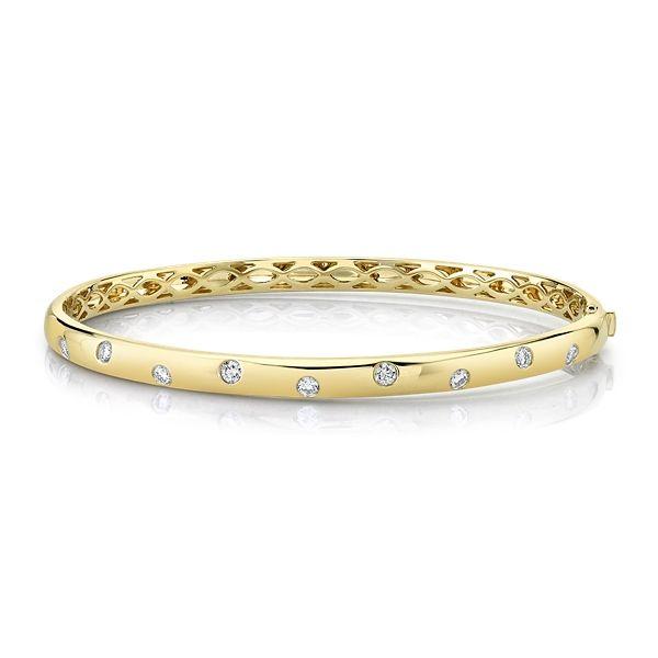 Memoire 18k Yellow Gold Bracelet 1/2 ct. tw.