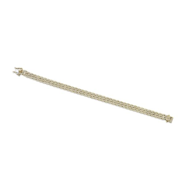 Shy Creation 14k Yellow Gold Bracelet 1 1/2 ct. tw.