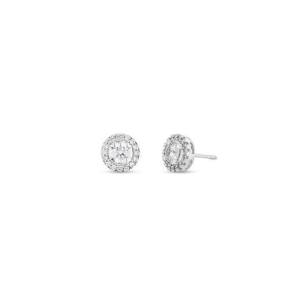 Eternalle Lab-Grown 14k White Gold Earrings 1 1/4 ct. tw.