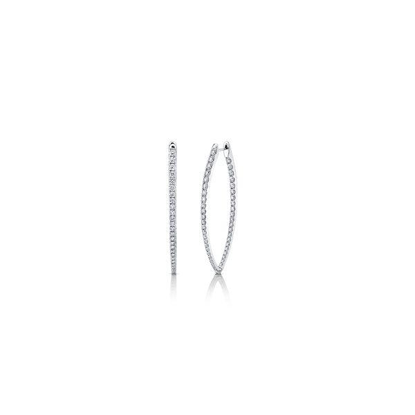 Memoire 18k White Gold Earrings 3 1/4 ct. tw.
