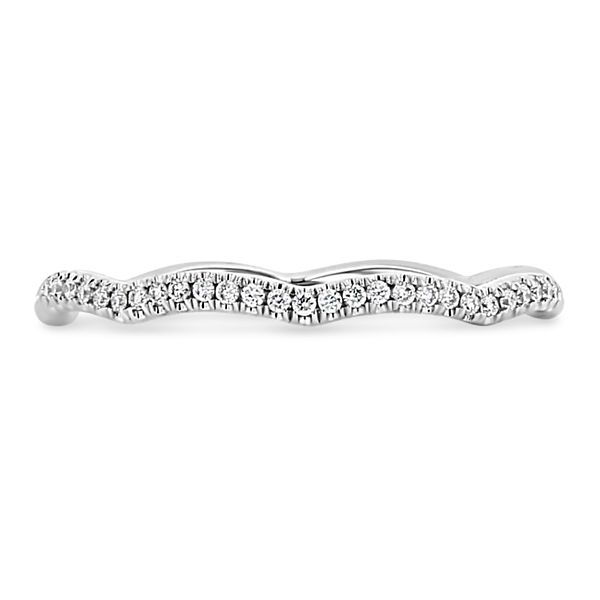Coast Diamond 14k White Gold Diamond Wedding Band 1/10 ct. tw.