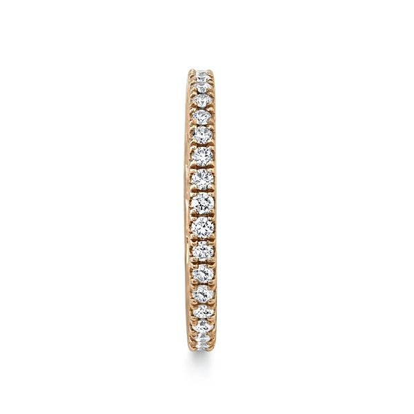 A. Jaffe 14k Rose Gold Diamond Wedding Band 1/2 ct. tw.