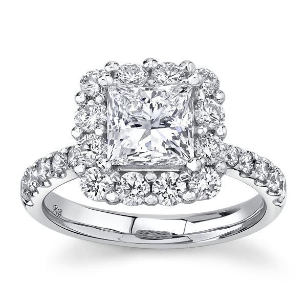 Eternalle Lab-Grown 14k White Gold Diamond Engagement Ring 2 1/2 ct. tw.