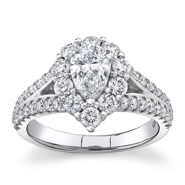 Eternalle Lab-Grown 14k White Gold Diamond Engagement Ring 1 3/4 ct. tw.