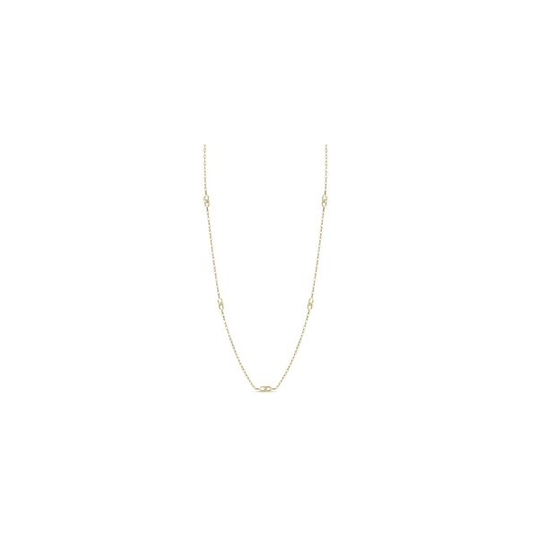 Michael M. 14k Yellow Gold Necklace 1/8 ct. tw.