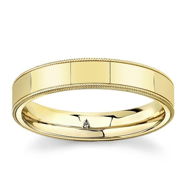 Christian Bauer 14k Light Rose Gold 4.5 mm Wedding Band