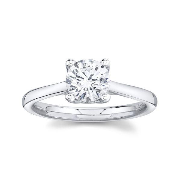 Coast Diamond 14k White Gold Engagement Ring Setting
