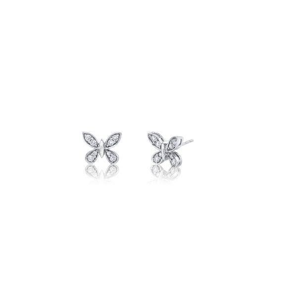 Eternalle Lab-Grown 14k White Gold Earrings 1/3 ct. tw.