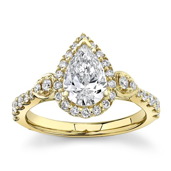 Eternalle Lab-Grown 14k Yellow Gold Diamond Engagement Ring 1 1/3 ct. tw.