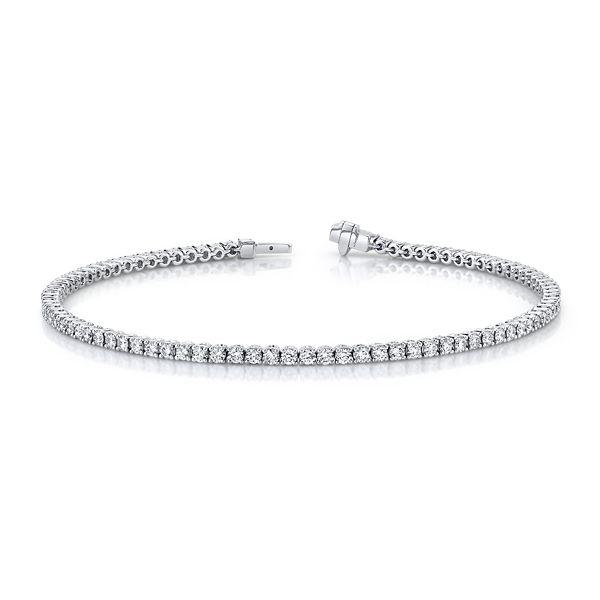 Memoire 18k White Gold Bracelet 2 ct. tw.