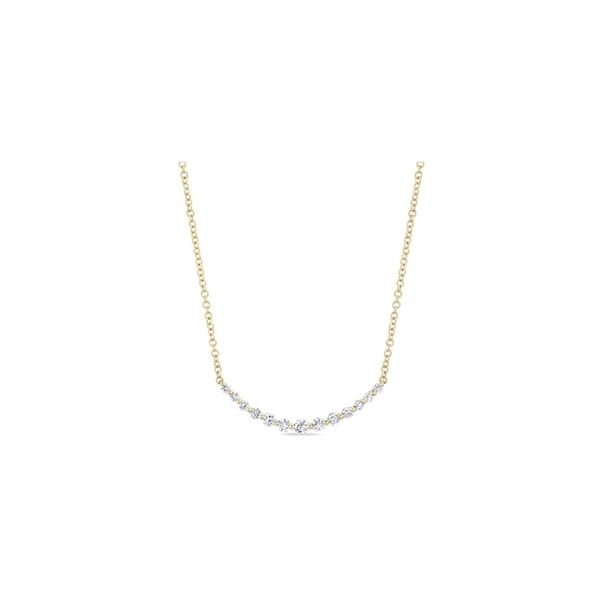 Gabriel & Co. 14k Yellow Gold Necklace 1/4 ct. tw.