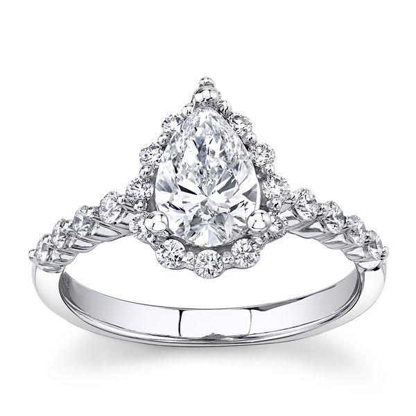 Eternalle Lab-Grown 14k White Gold Diamond Engagement Ring 1 1/4 ct. tw.