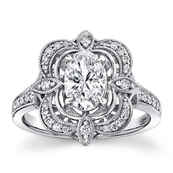 RB Signature Platinum Diamond Engagement Ring 1 ct. tw.