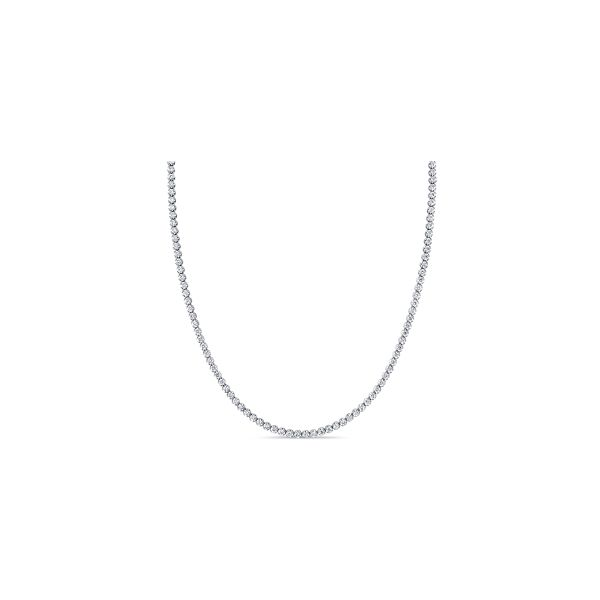 14k White Gold Necklace 5 ct. tw.