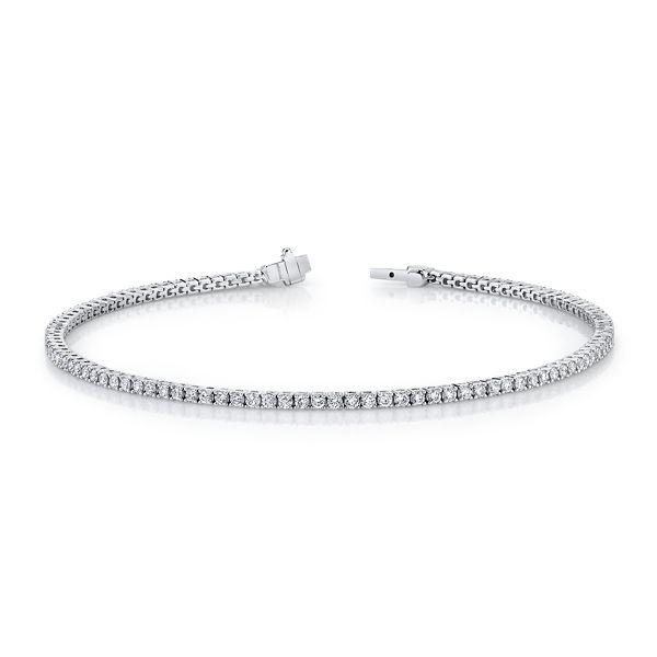 Memoire 18k White Gold Bracelet 1 1/3 ct. tw.