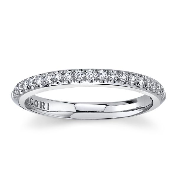 Tacori Platinum Diamond Wedding Band 1/3 ct. tw.