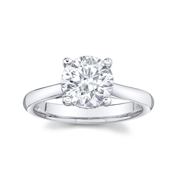Coast Diamond 14k White Gold Diamond Engagement Ring Setting .05 ct. tw.