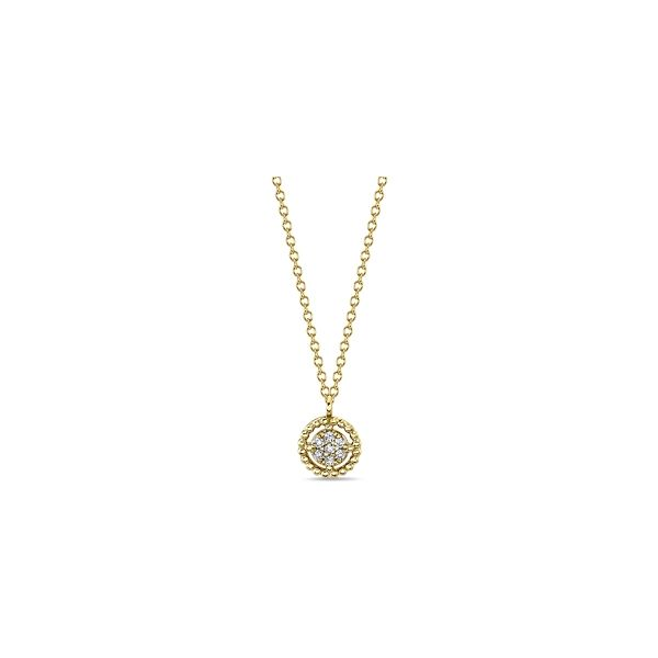 Gabriel & Co. 14k Yellow Gold Necklace .05 ct. tw.