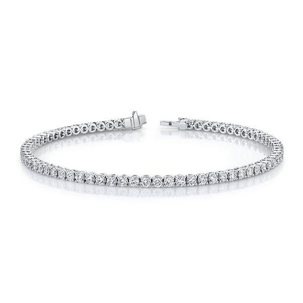 Memoire 18k White Gold Bracelet 3 1/4 ct. tw.
