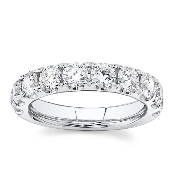 Eternalle Lab-Grown 14k White Gold Diamond Wedding Band 2 ct. tw.