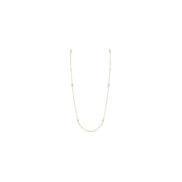Michael M. 14k Yellow Gold Necklace 1/10 ct. tw.
