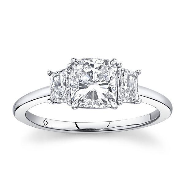 Forevermark Platinum Diamond Engagement Ring 1 1/3 ct. tw.