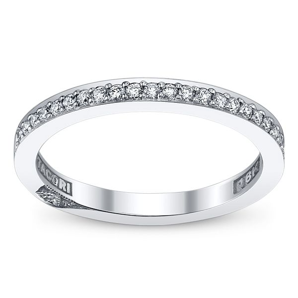 Tacori Platinum Diamond Wedding Band 1/5 ct. tw.