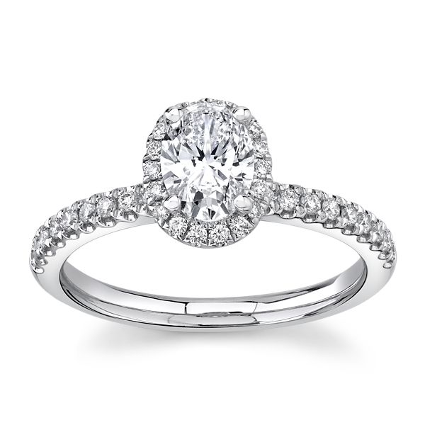 Eternalle Lab-Grown 14k White Gold Diamond Engagement Ring 1 ct. tw.