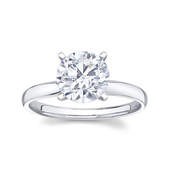 Platinum Engagement Ring Setting