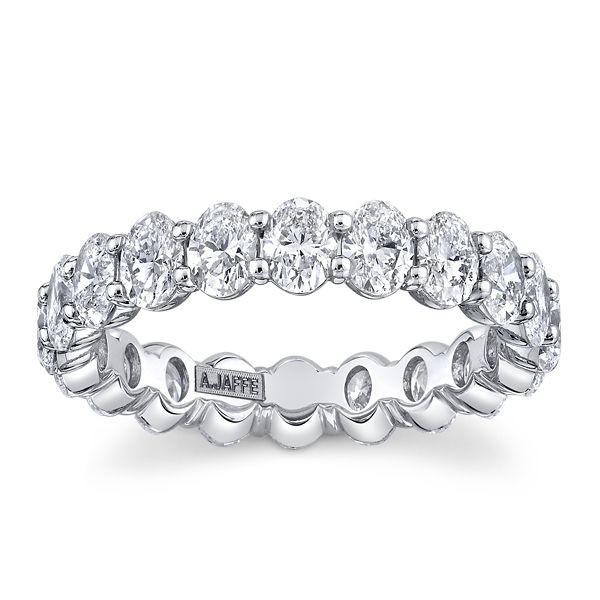 A. Jaffe Platinum Diamond Wedding Band 3 ct. tw.
