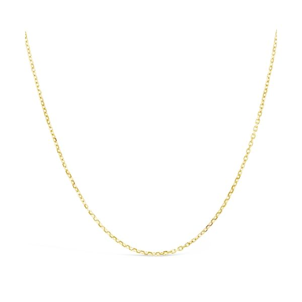 "14k Yellow Gold Chain 24"" Adjustable Box Chain"