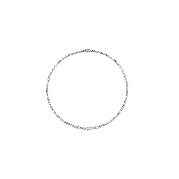 Eternalle Lab-Grown 14k White Gold Necklace 5 ct. tw.