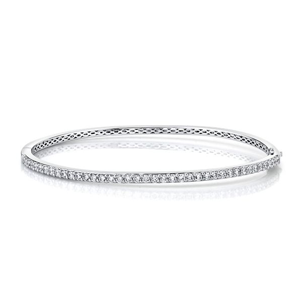 Memoire 18k White Gold Bracelet 1 ct. tw.