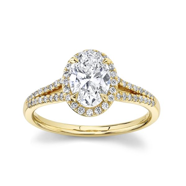 Eternalle Lab-Grown 14k Yellow Gold Diamond Engagement Ring 1 1/4 ct. tw.