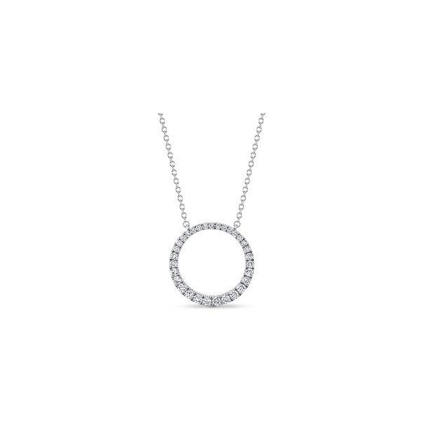 Memoire 18k White Gold Necklace 1/2 ct. tw.