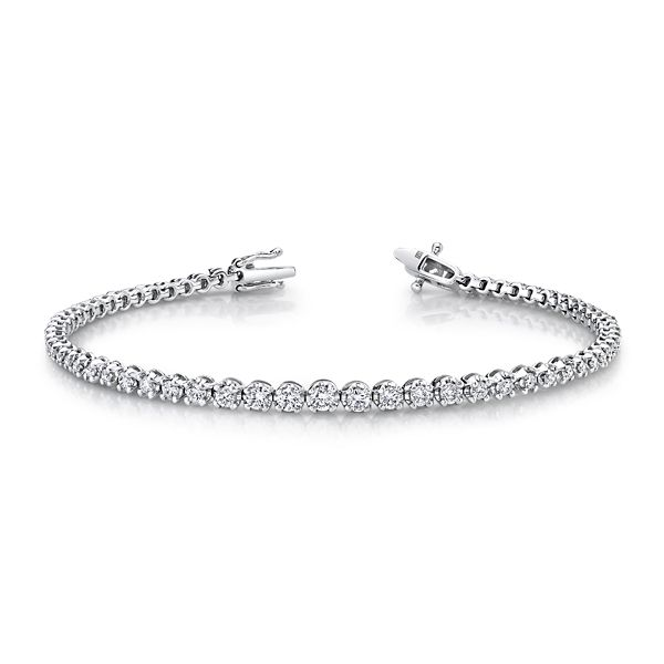 14k White Gold Bracelet 1 1/4 ct. tw.