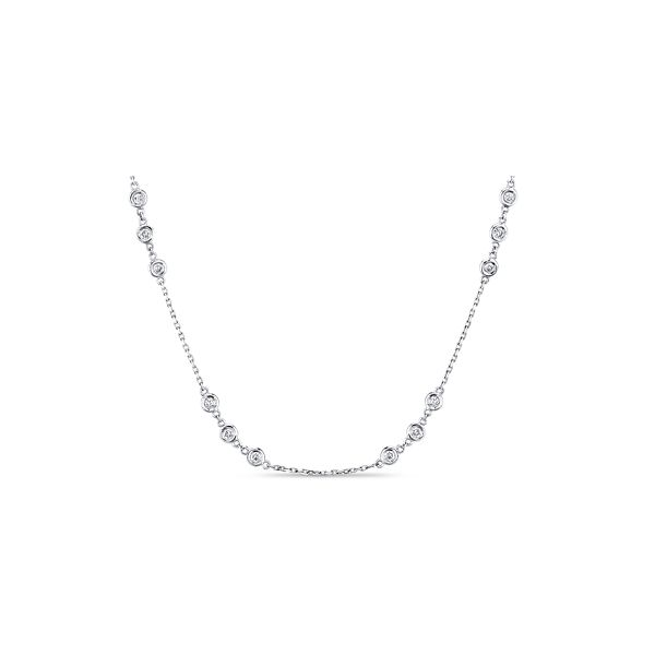 14k White Gold Necklace 1 1/2 ct. tw.