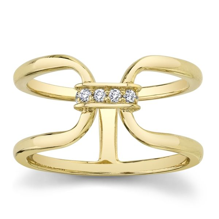 Michael M. 14k Yellow Gold Diamond Wedding Band .06 ct. tw.