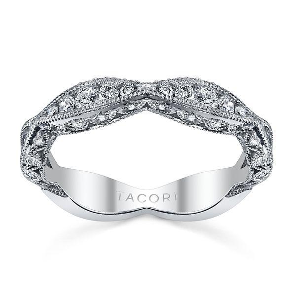 Tacori 18k White Gold Diamond Wedding Band 1/2 ct. tw.